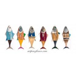 foulard - tunas portrait